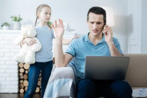 Daughter is ignored by father following Uninvolved Parenting style of parenting