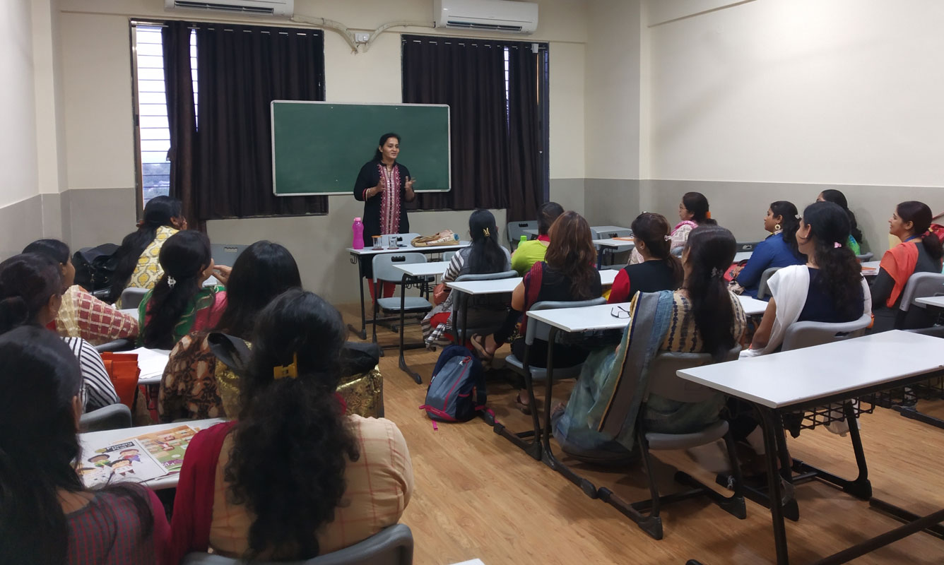 Self-Develpment Workshop for Teachers conducted by MindSight psychologist at Poddar School