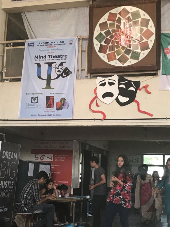Mind Theater activity organized by MnidSight psychologists at Somaya College