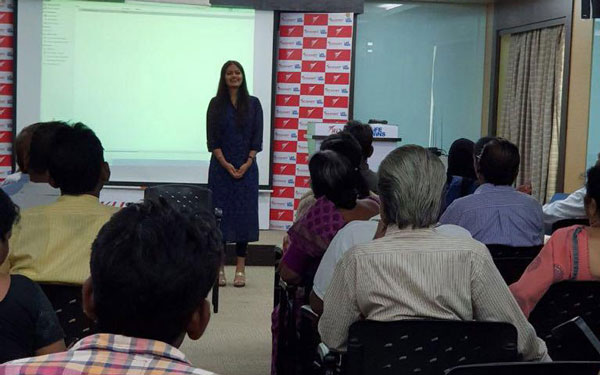 Music Therapy Workshop cunducted by Jaini Savla, our  Senior Psychologist and CEO at Wockhardt Hospital