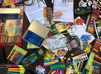 Art Therapy helps psychologists evaluate an individuals emotional and mental issues through their artwork and creative doodles.